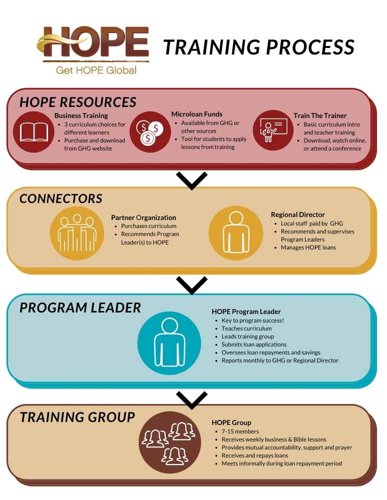 small version of the HOPE training process